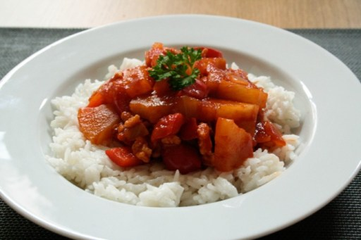 Sweet and sour stew