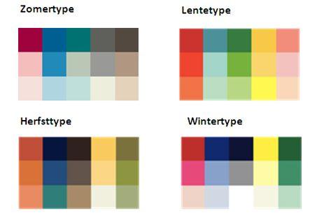Uitgetest kleurenanalyse julienne - Koele kleuren warme kleuren ...