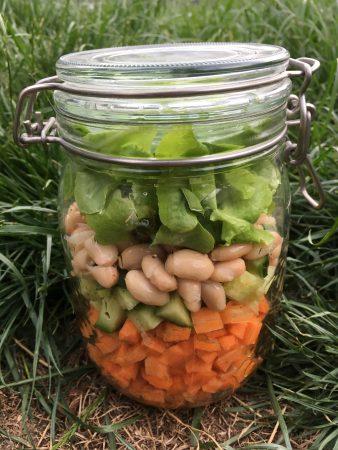 Salad in a jar | Julienne