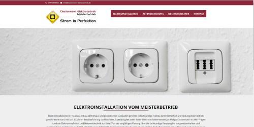 Internetseite-Clostermann