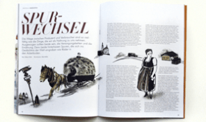 Freude-Magazin Doppelseite