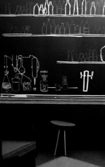 "Bar ""Medusa"" | Modell für Mural | Silke Müller & Katja Seifert | Projekt: ""Turnton"" von Time's Up"