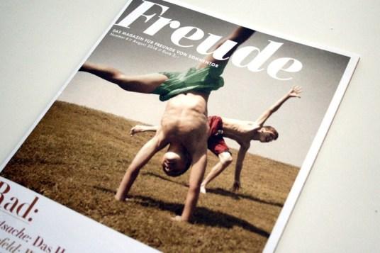 Freude Magazin, Spurwechsel, Sonnentor Illustration, Silke Müller, Linz, Freelance illustrator