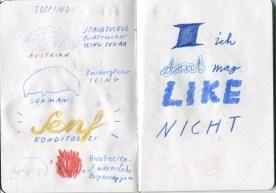 It's not what it seems | Sketchbook Project 2018 | Illustration: Silke Müller