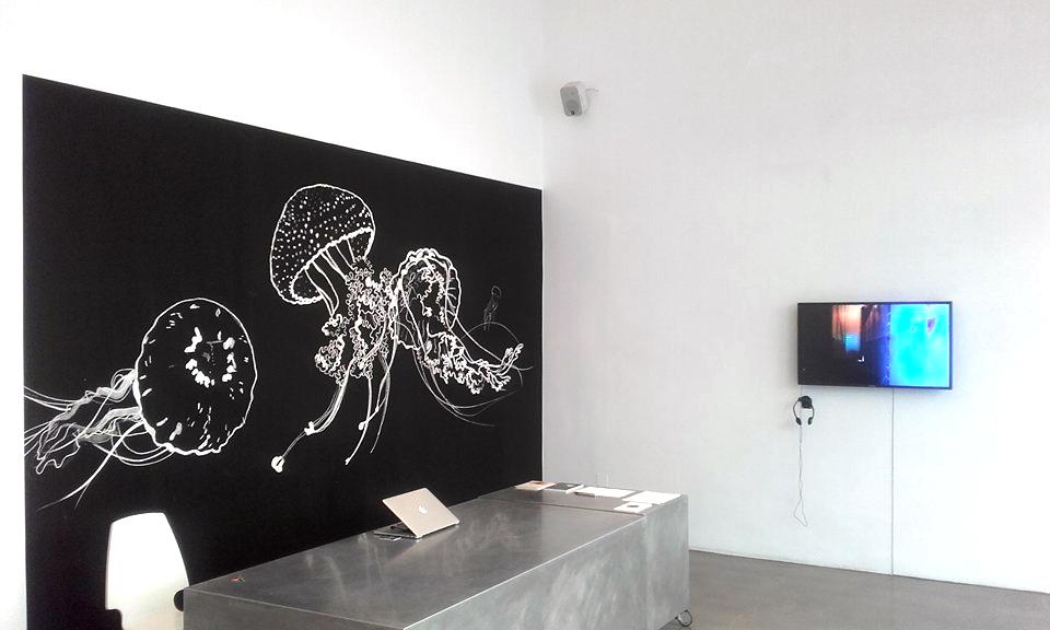 Medusa Bar Particles, Time's Up, Bildraum 7, Turntondocklands, | Wien | Illustration: Silke Müller | Foto: Esther Mlenek