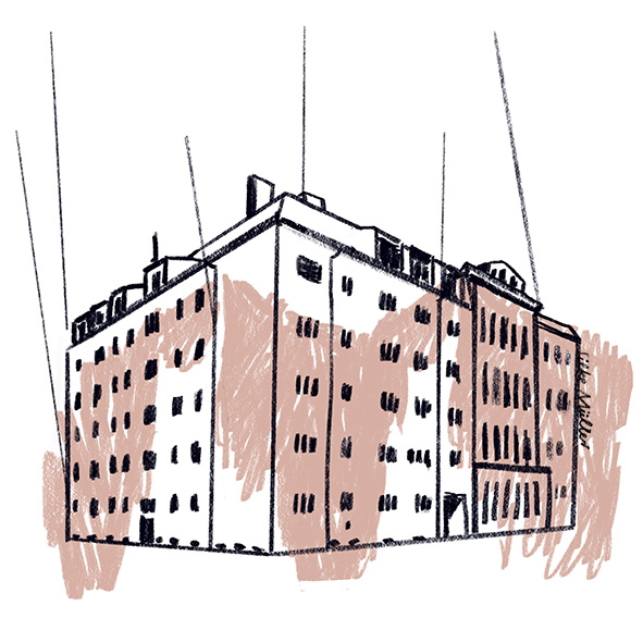 Illustration: Silke Müller | Boulevardzeitung Augustin