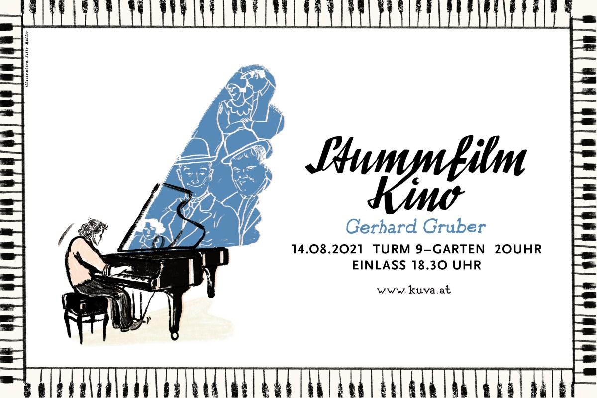 Stummfilmkino   Gerhard Gruber   KUVA   Illustration: Silke Müller