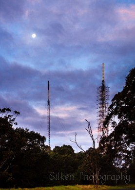 Beautiful Bunya Mountains mobile masts