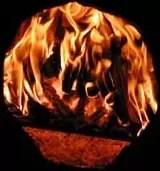 Töpferbrand im Lehmofen