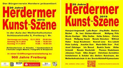 Herdermer Kunst in Szene 2019