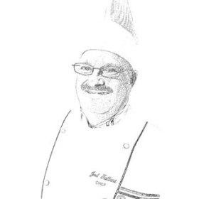 Chef Joel Drawing
