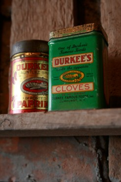 Now called simply Durkee, E.R. Durkee & Co. was founded in 1850 in Buffalo, NY. They were the first to offer consumer-sized packaging of spices and pure ground pepper in 1888 as well as the first to introduce tins to store spices instead of cardboard containers in 1918.