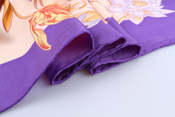 90cm Silk Scarf-Square Silk Scarf-Wholesale Scarfs-HA626D3