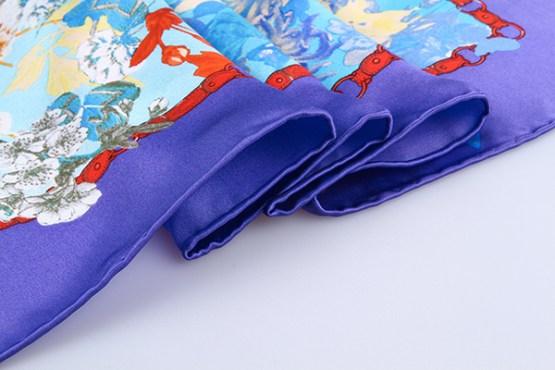 90cm Silk Scarf-Square Silk Scarf-Wholesale Scarfs-HA627C3