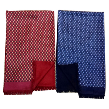 Mens Silk Scarf-Double Layers-Thick MSDT020A