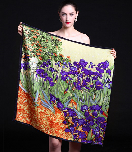 Silk Scarf-Famous Paintings-90SFP020A