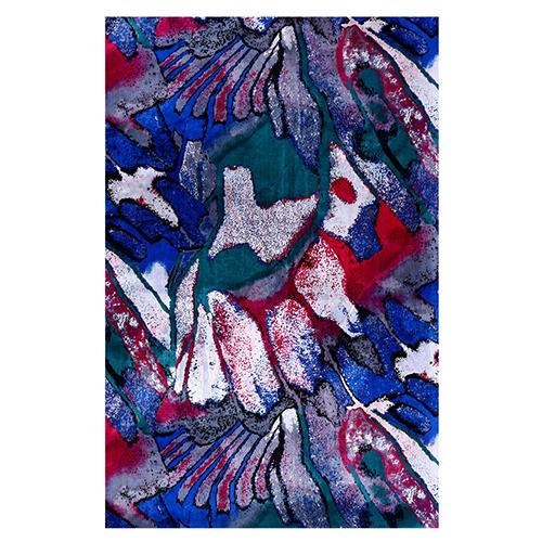 Silk Scarf -Infinity Scarf -Silk PAJ Scarf-Graffiti-SPGR02A1