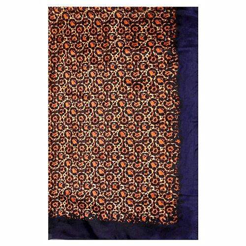 Silk Scarf -Infinity Scarf -Silk PAJ Scarf-Leopard-SPLE012A1