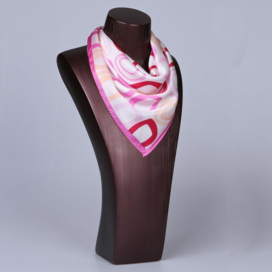 Square Silk Scarf-55CM Silk Scarf-Silk Scarf China- HHS011A