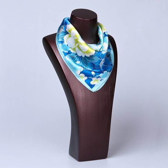 Square Silk Scarf-55CM Silk Scarf-Silk Scarf China- HHS013D