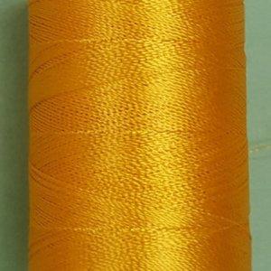 Yellow silk thread spool