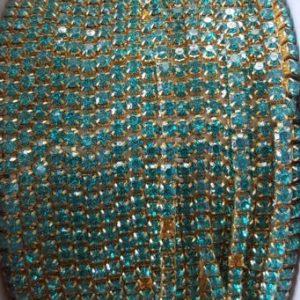 Stone chain light blue