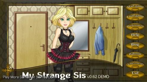 My Strange Sis ANIMATED SEX GAME