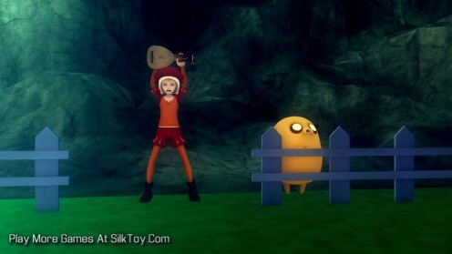 What if Adventure Time was a 3D Anime Game_11