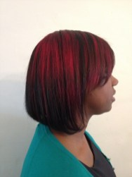 Silk Trends take on the Ombre trend. (Side)