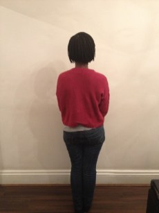 Single plait bob (Back)