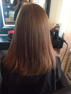 After- Blow Dry Styling