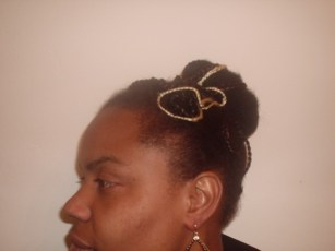 Special Occasion Updo (Side)