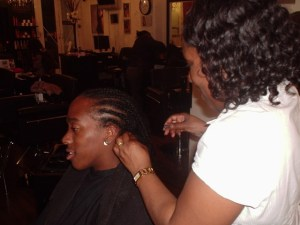Academy Course - Cornrow Front/Single Braid with Extension by Student