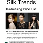 Silk Trends Price List