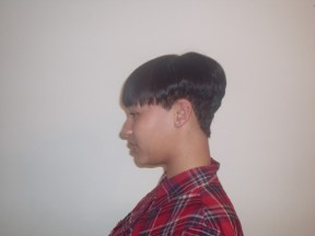 Short Graduation Cut (Side)