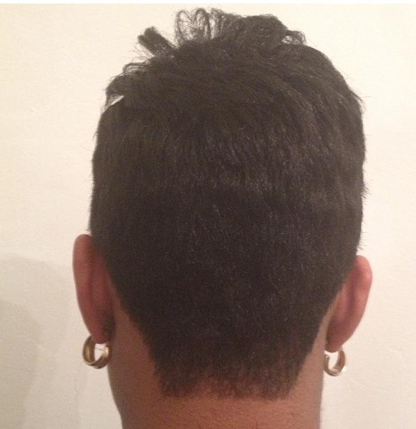 Sleek Crop, Back View
