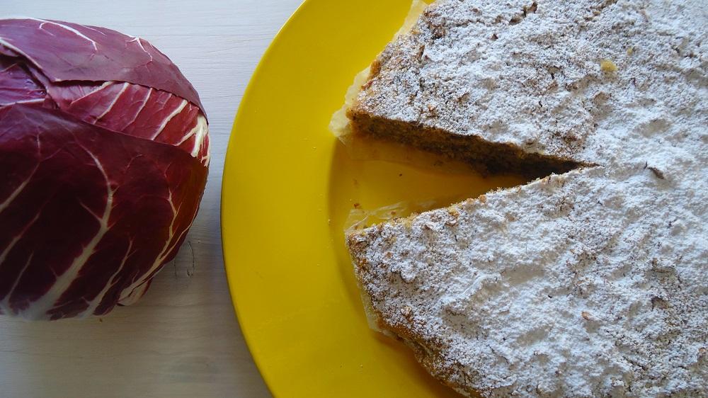 torta soffice al radicchio rosso