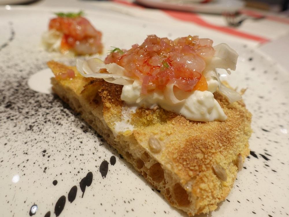 la pizza gourmet di chef Simone Padoan