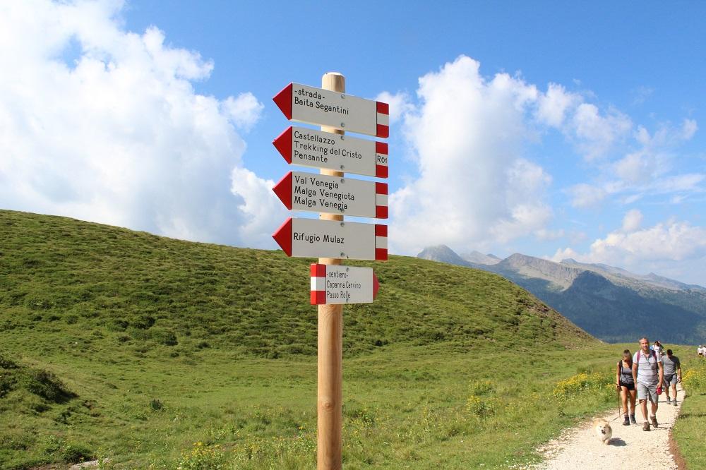 Sentieri nel parco di Paneveggio sulle Pale di San Martino