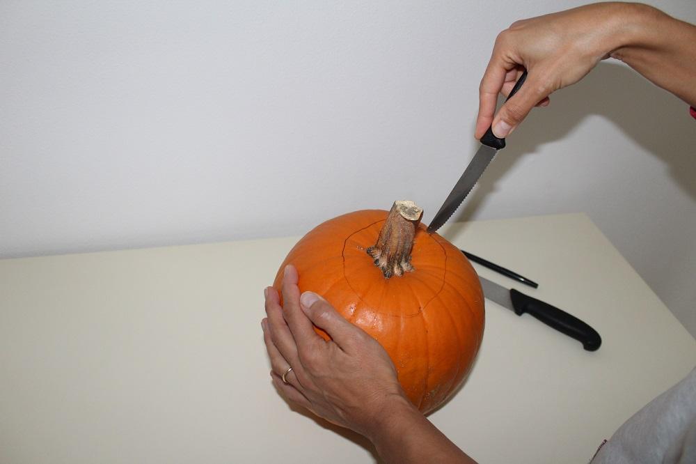 Vieni con me a fare la zucca di Halloween