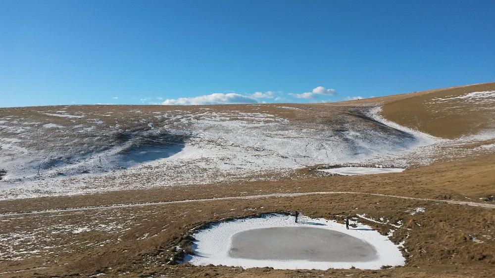 Lessinia a San Giorgio paesaggio invernale