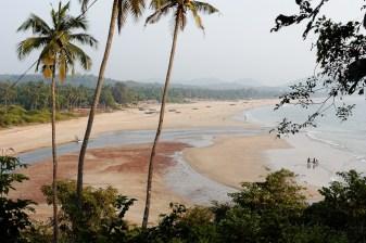 La plage d'Agonda
