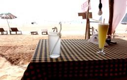 Sur la plage d'Agonda