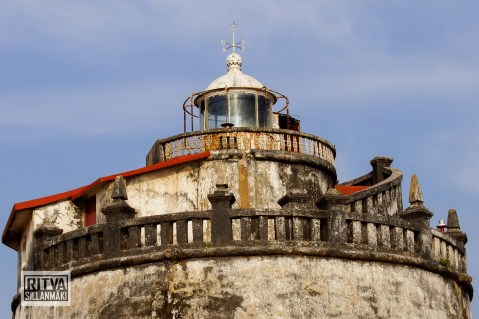 Goa India, Panjim-Portugese fort (14)