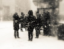 waiting-in-snow-in-sepia