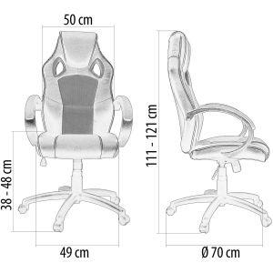 racemaster gs serie sillas ergonómicas