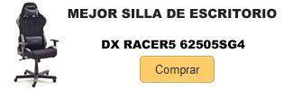 Comprar mejor silla escritorio DX Racer5 62505SG4