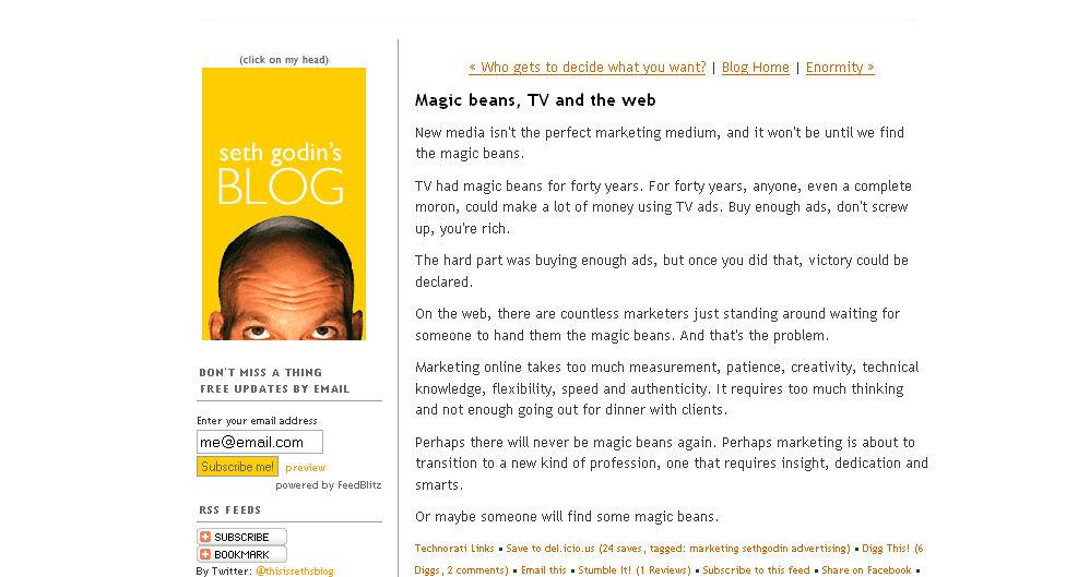 Godin Blog