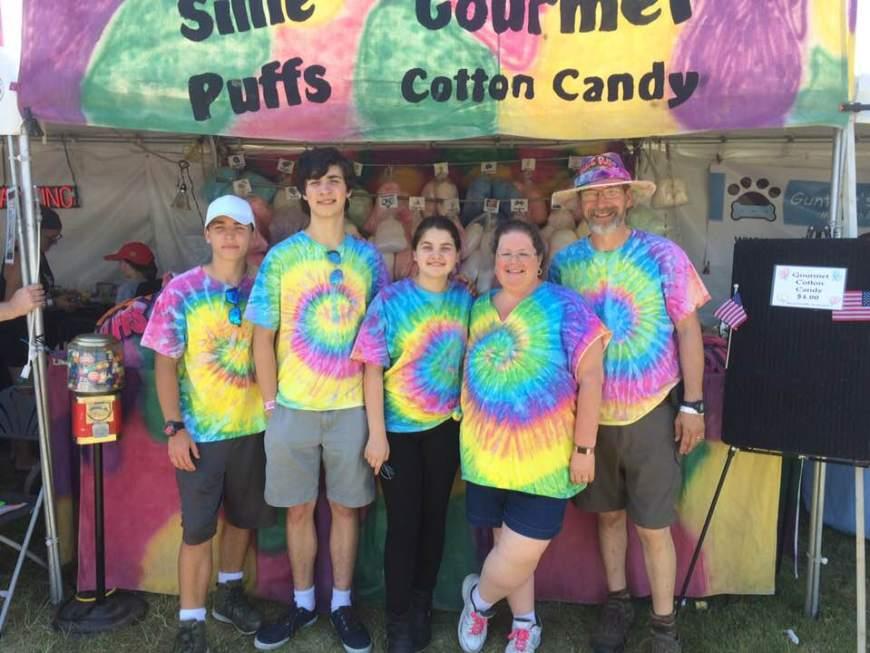 sillie puffs cotton candy crew