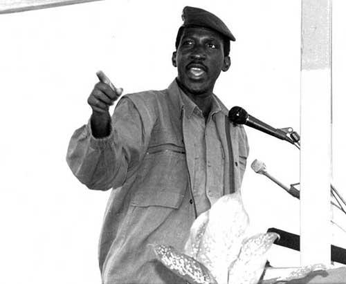 Conseil national de la Révolution : Le premier discours du capitaine Thomas Sankara